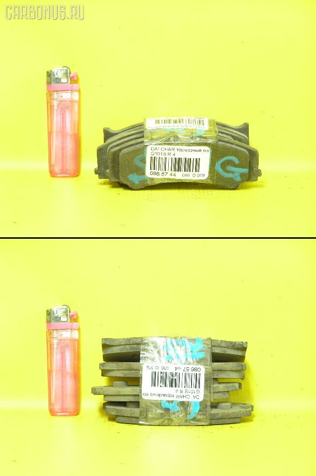 Тормозные колодки Daihatsu Charade G101S Фото 1