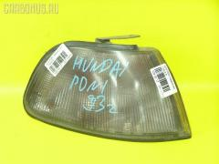 Поворотник к фаре на Hyundai Poni 01916, Правое расположение