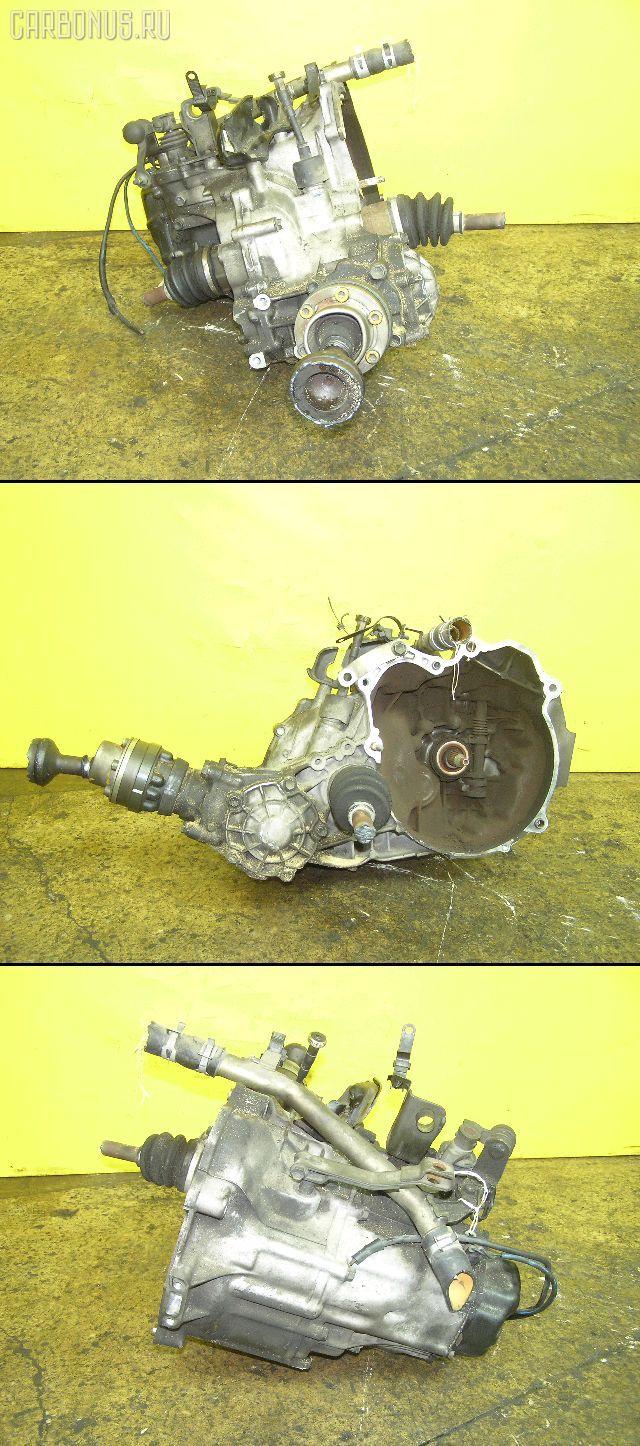 КПП механическая SUZUKI WAGON R CV21S F6A. Фото 7