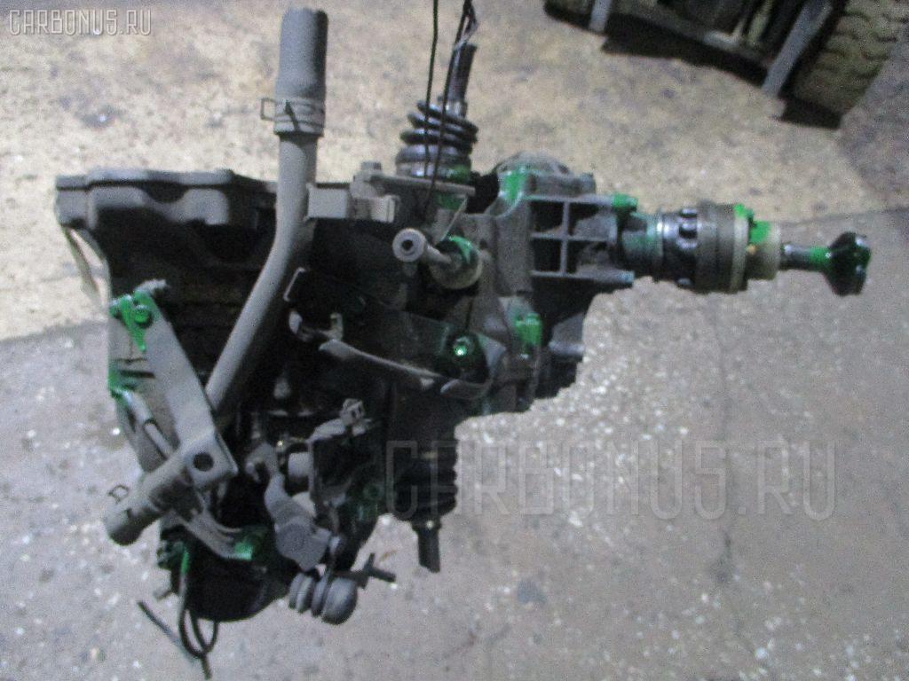 КПП механическая SUZUKI WAGON R CV21S F6A. Фото 4