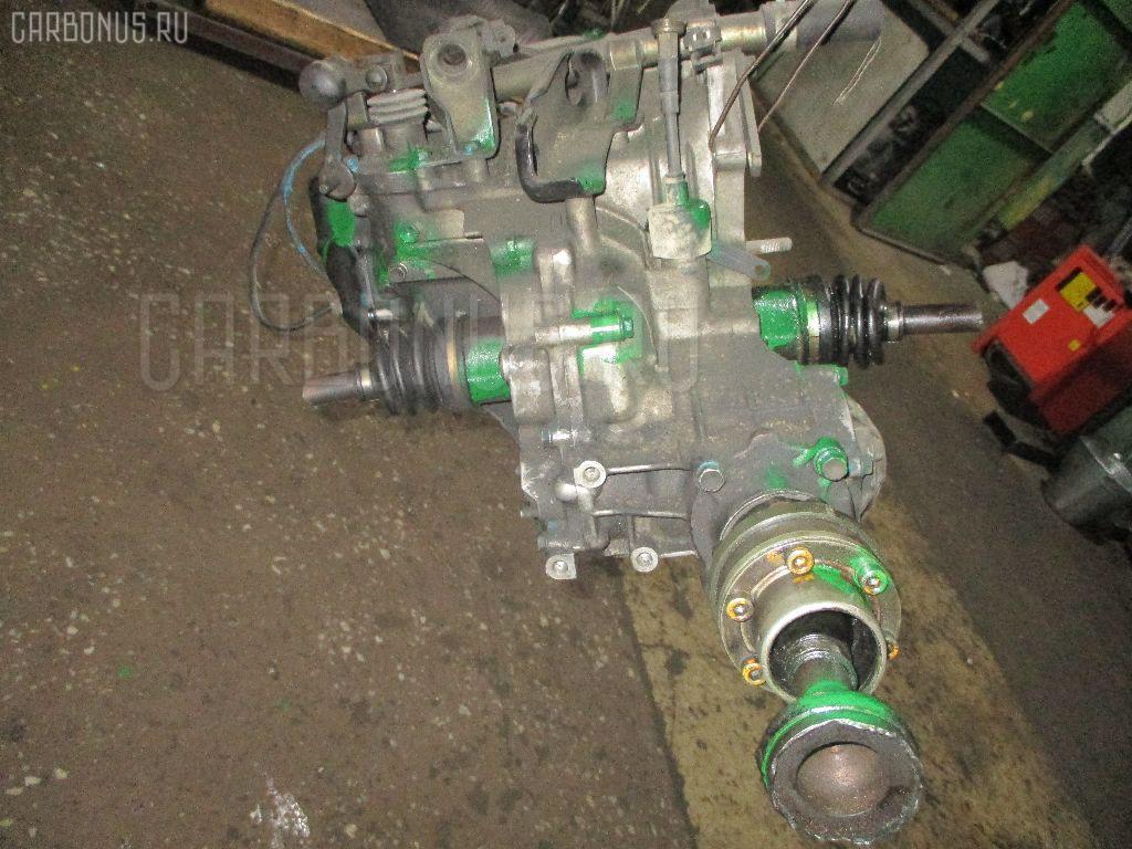 КПП механическая SUZUKI WAGON R CV21S F6A. Фото 6