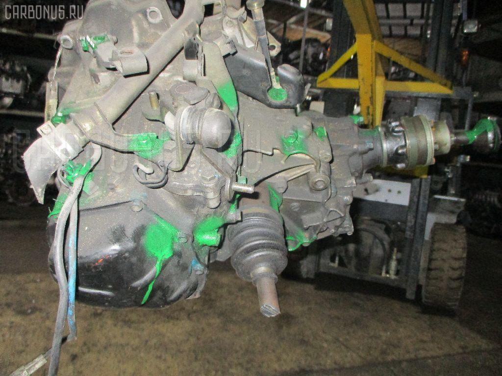 КПП механическая SUZUKI WAGON R CV21S F6A. Фото 5