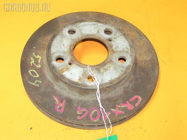Тормозной диск TOYOTA ESTIMA LUCIDA CXR10G. Фото 2