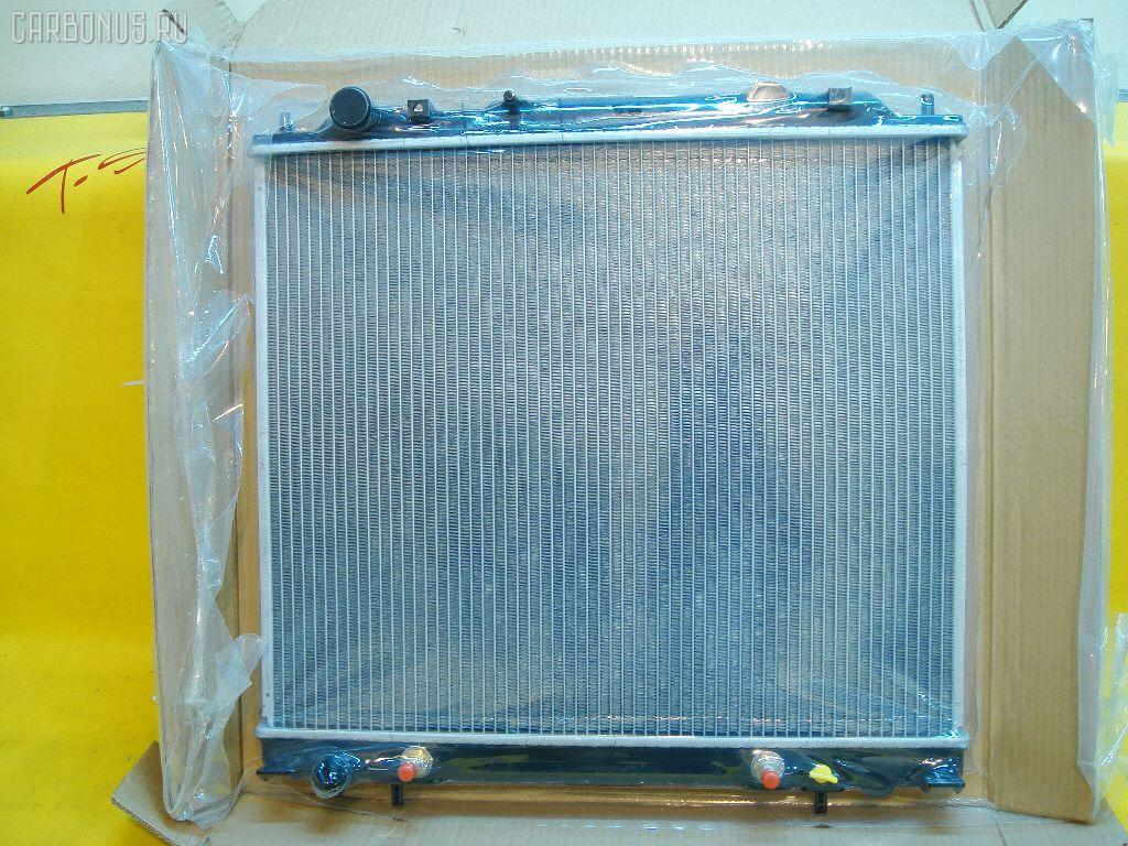 Радиатор ДВС MITSUBISHI DELICA SPACE GEAR PF6W 4G64. Фото 5