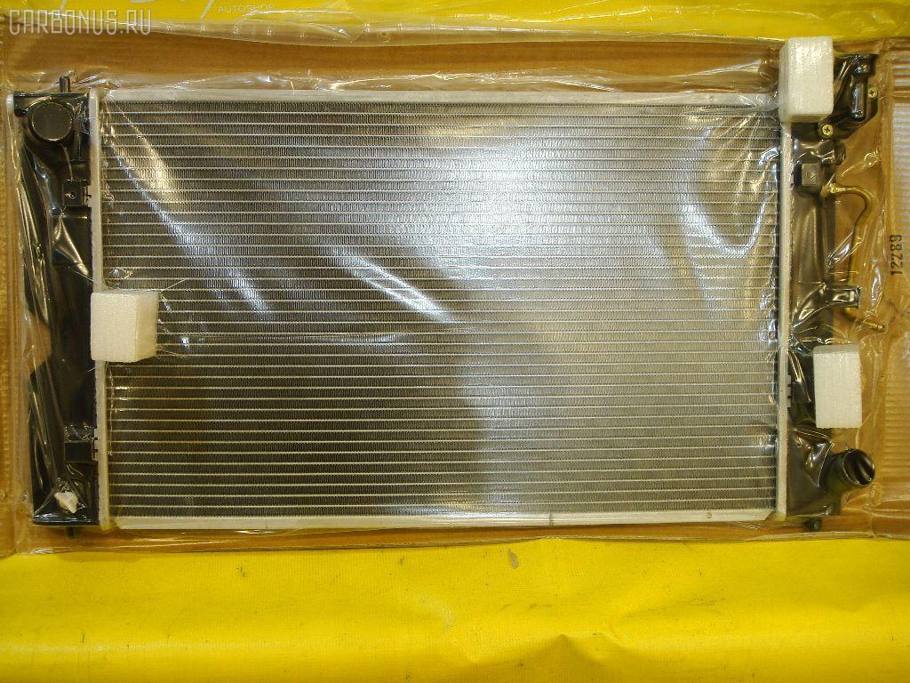 Радиатор ДВС TOYOTA COROLLA CE121 3C. Фото 2
