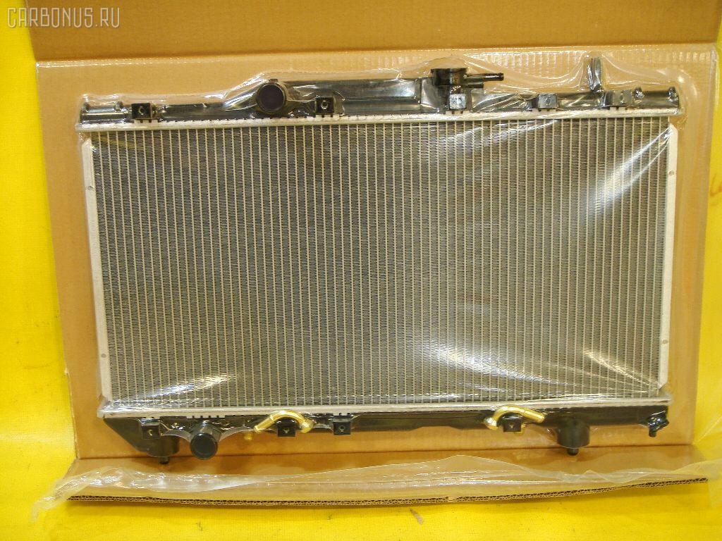 Радиатор ДВС TOYOTA CORONA AT190 5A. Фото 6