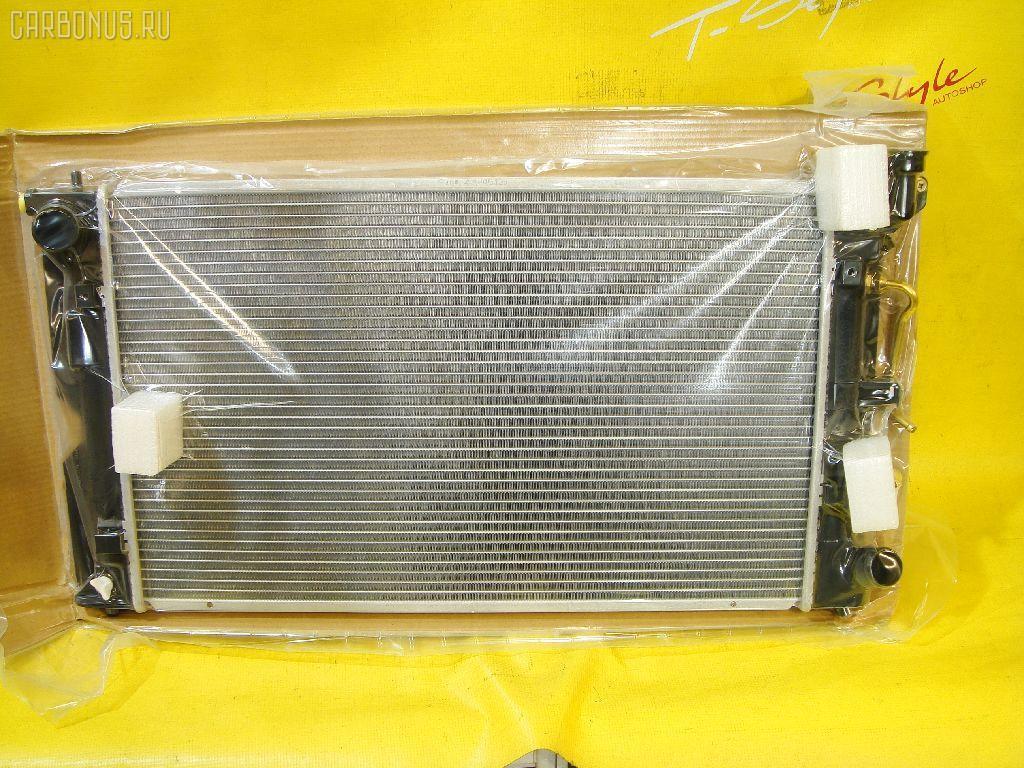 Радиатор ДВС TOYOTA COROLLA CE121 3C. Фото 7