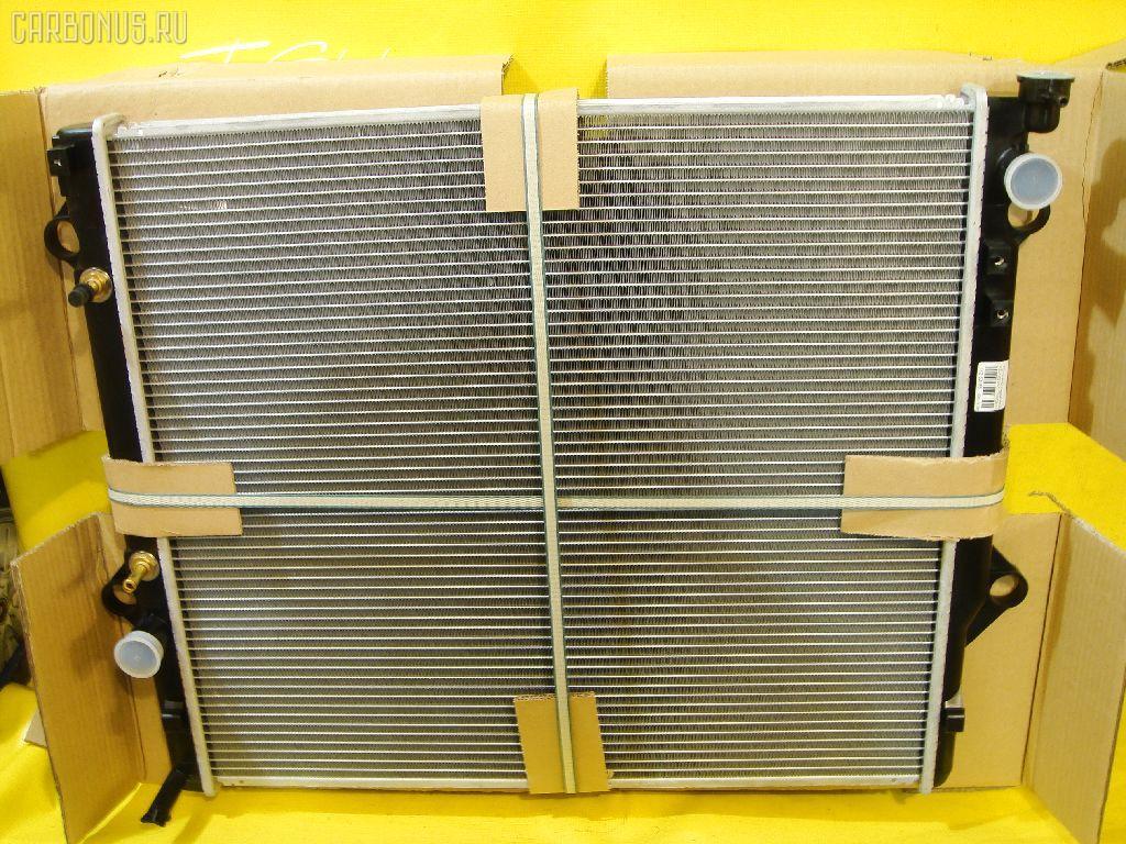 Радиатор ДВС TOYOTA LAND CRUISERP RADO VZJ120 5VZ. Фото 1