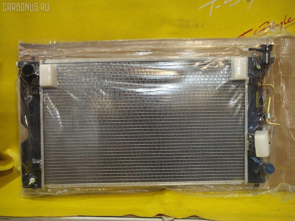 Радиатор ДВС TOYOTA COROLLA CE121 3C. Фото 8