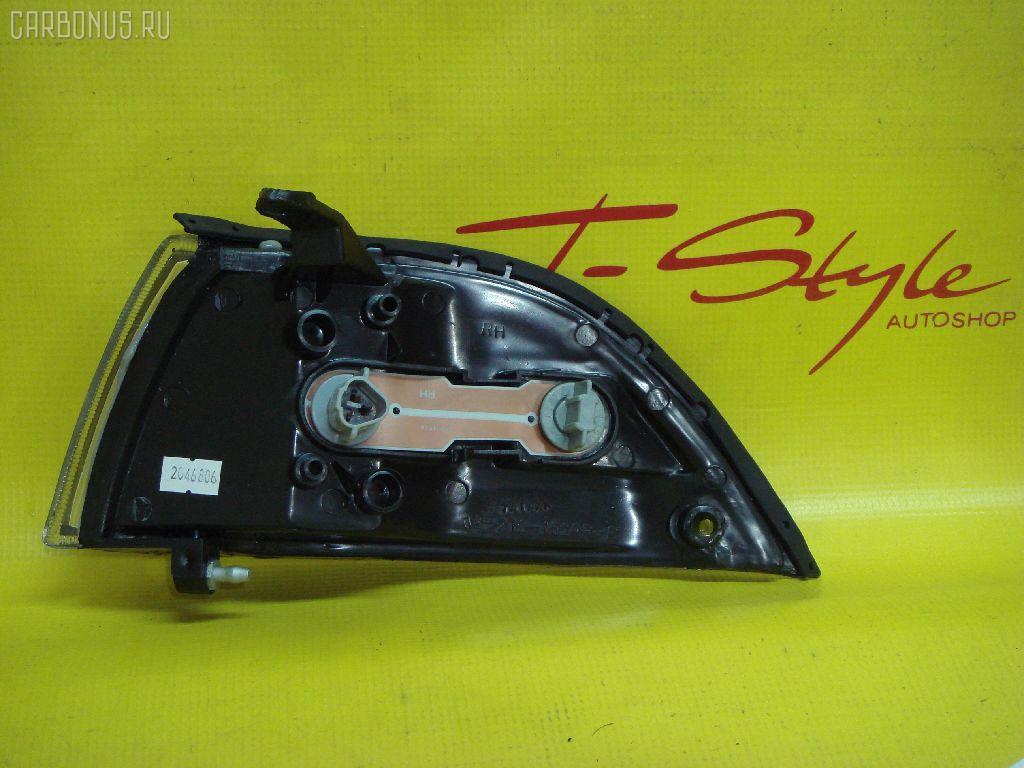 Поворотник к фаре TOYOTA COROLLA AE91. Фото 8