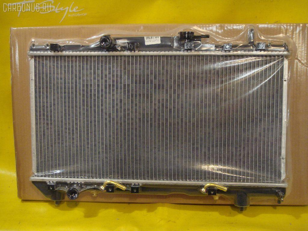 Радиатор ДВС TOYOTA CORONA AT190 5A. Фото 8