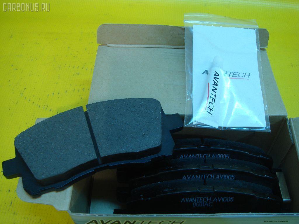 Тормозные колодки Subaru Legacy BHC Фото 1