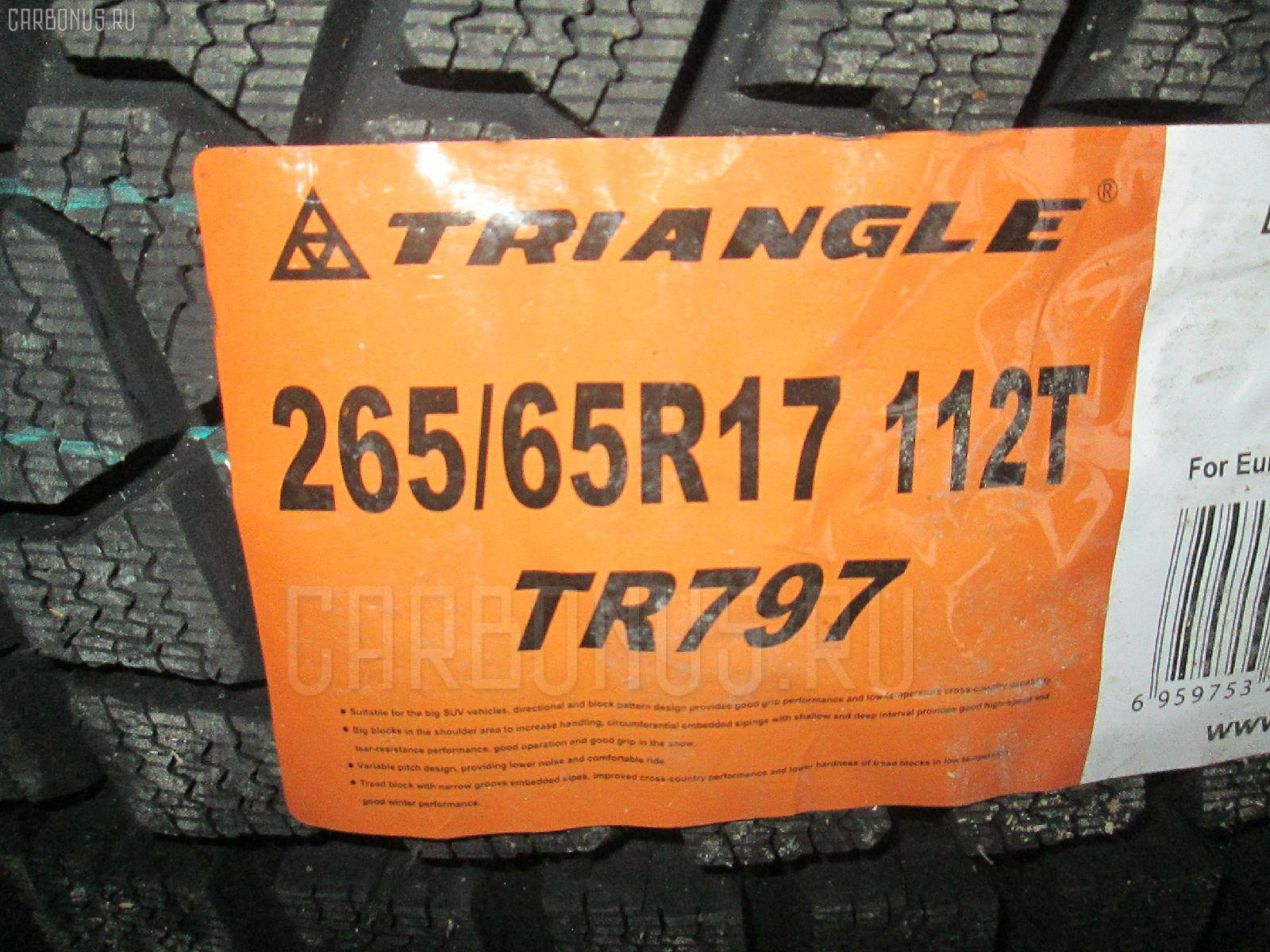 Автошина легковая зимняя TR797 265/65R17. Фото 7