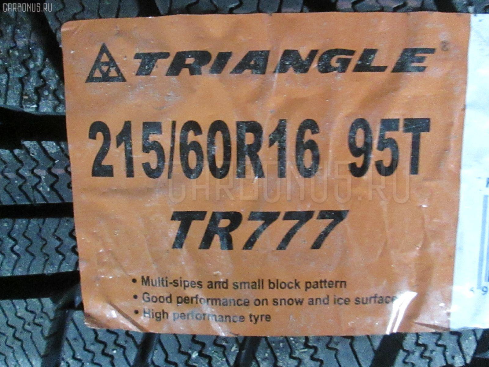 Автошина легковая зимняя TR777 215/60R16. Фото 4