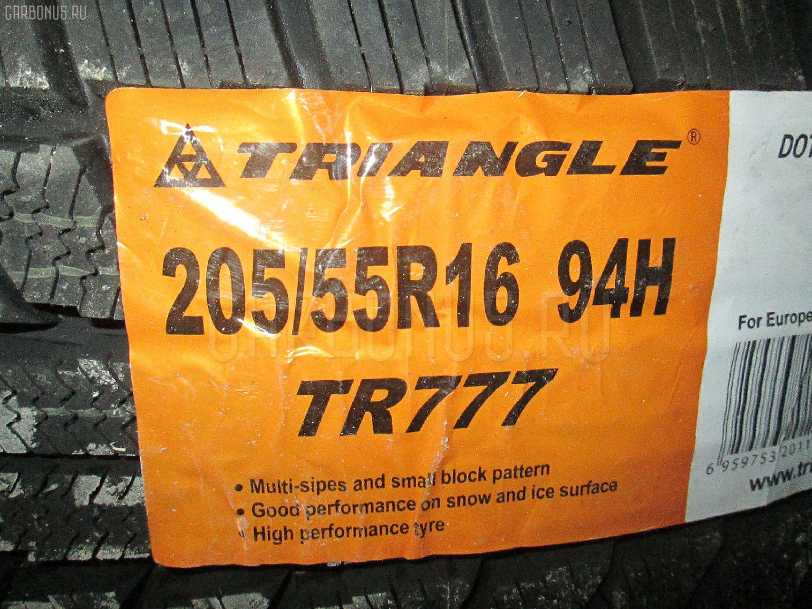 Автошина легковая зимняя TR777 205/55R16 TRIANGLE Фото 1