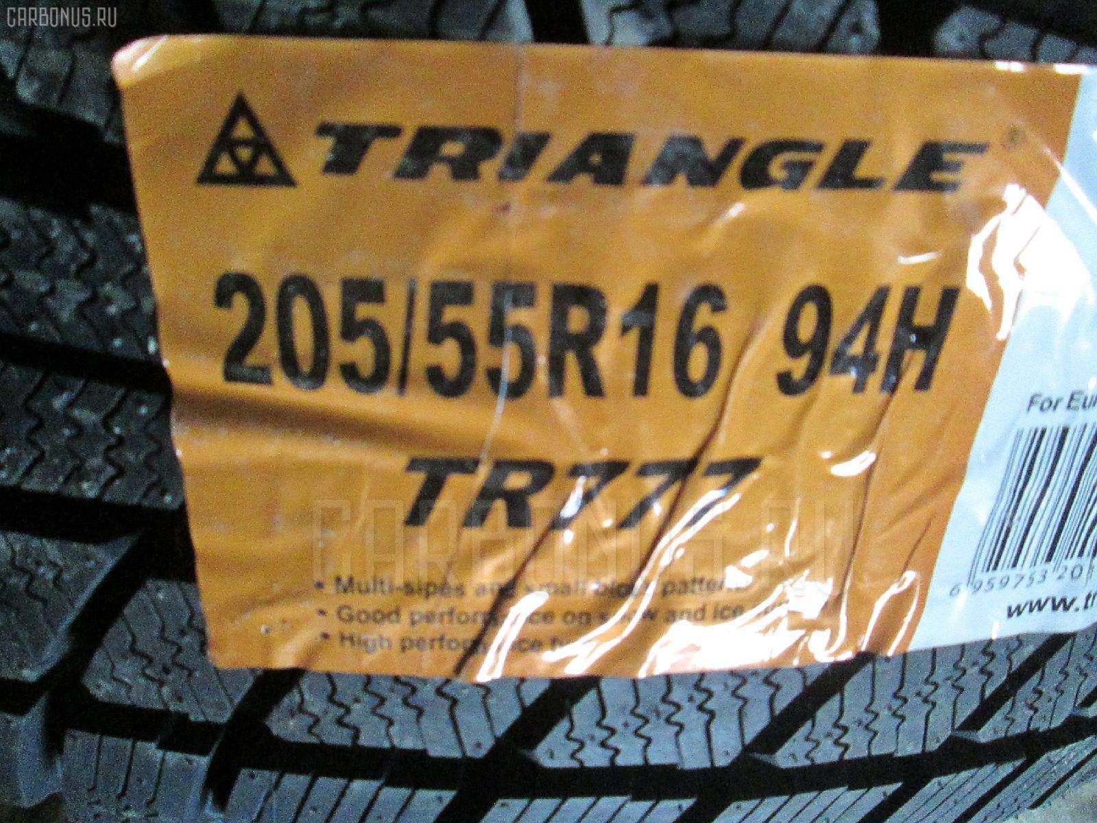 Автошина легковая зимняя TR777 205/55R16. Фото 4