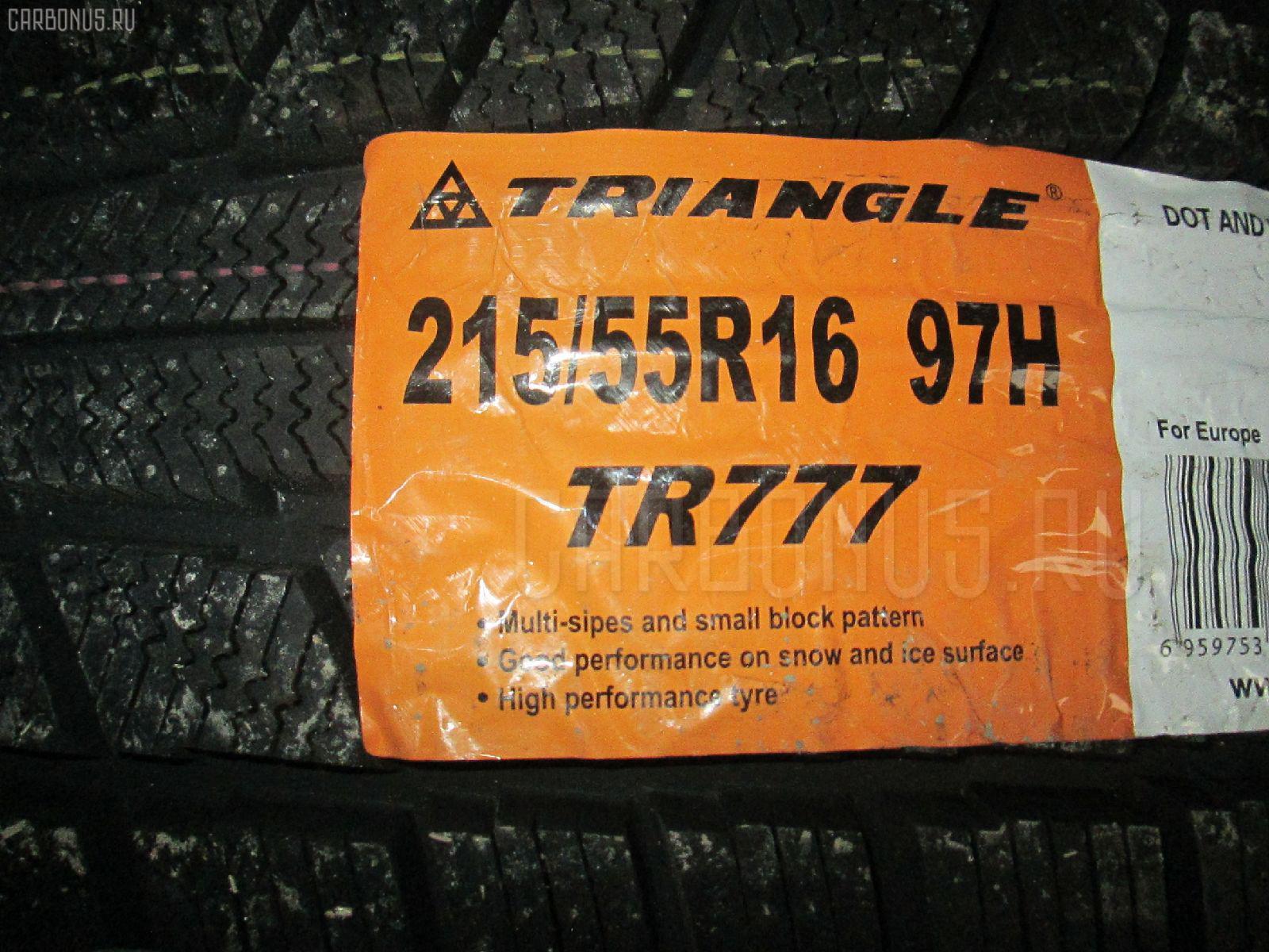 Автошина легковая зимняя TR777 215/55R16 TRIANGLE Фото 1