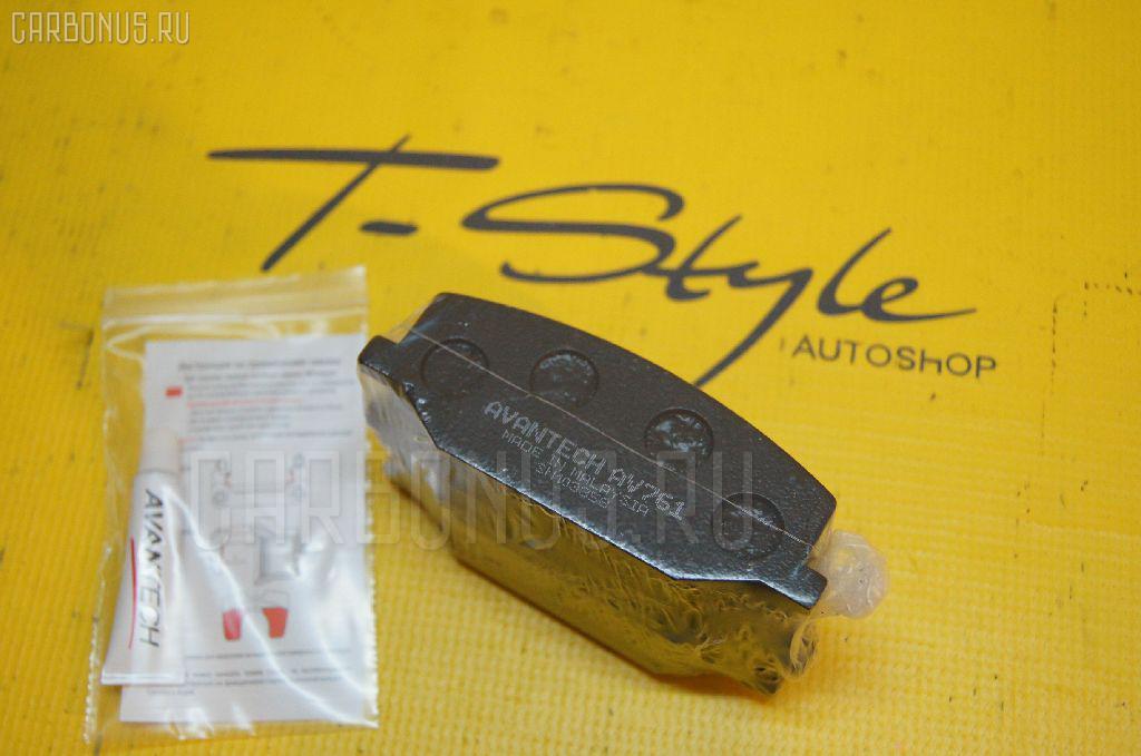 Тормозные колодки SUZUKI JIMNY SIERRA JB43W. Фото 1