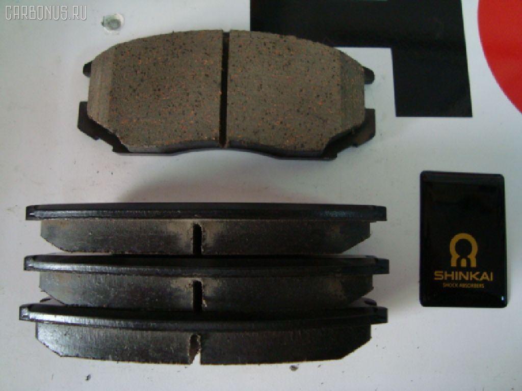 Тормозные колодки DAIHATSU TERIOS J100G. Фото 3