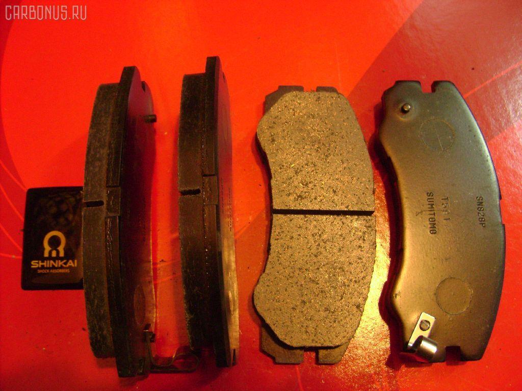 Тормозные колодки ISUZU BIGHORN UB69. Фото 2