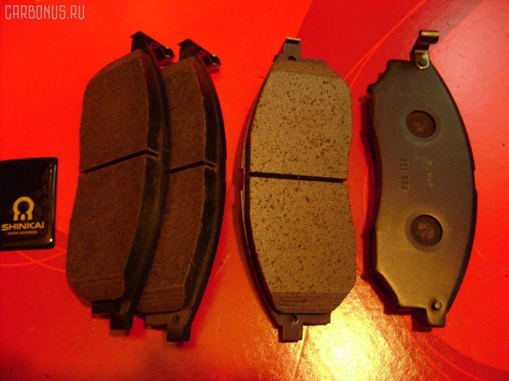 Тормозные колодки NISSAN LAUREL GC35. Фото 1