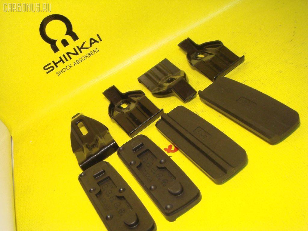 Брэкеты для базовых креплений багажников Mitsubishi Mirage CJ# CARMATE K136 Фото 1