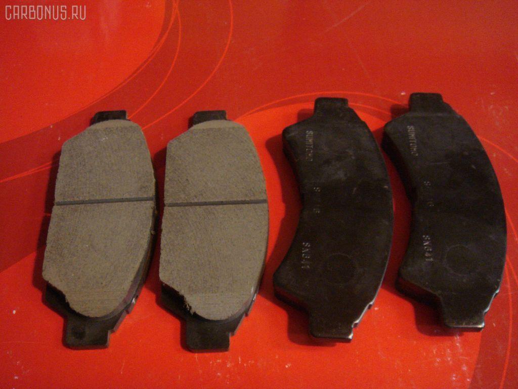 Тормозные колодки TOYOTA VISTA SV32 3S-FE. Фото 5