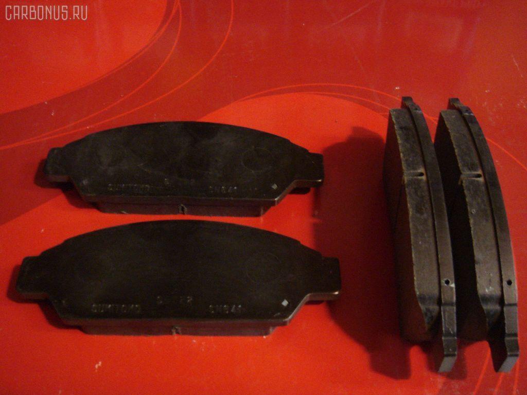 Тормозные колодки TOYOTA VISTA SV32 3S-FE. Фото 6