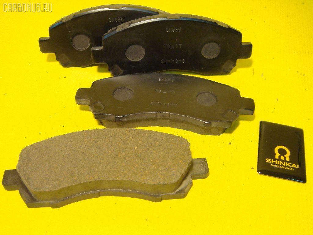Тормозные колодки SUBARU IMPREZA Фото 1
