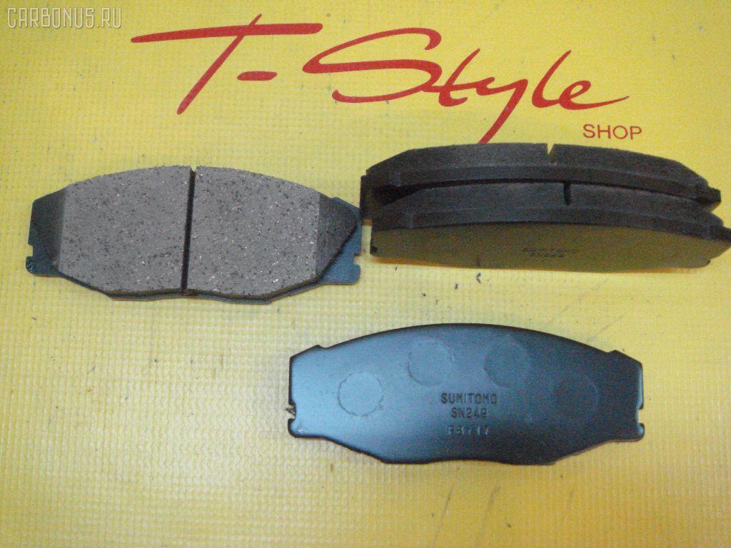 Тормозные колодки TOYOTA CROWN JZS141 1JZ-GE. Фото 6