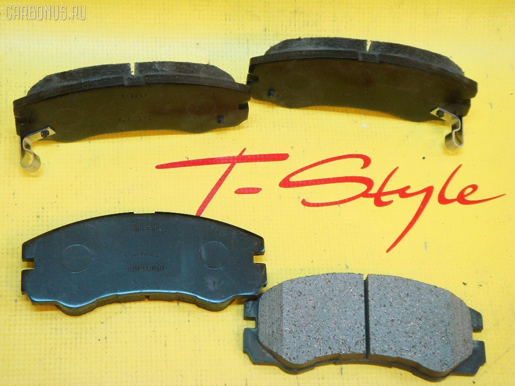 Тормозные колодки ISUZU BIGHORN UBS69 4JG2. Фото 2