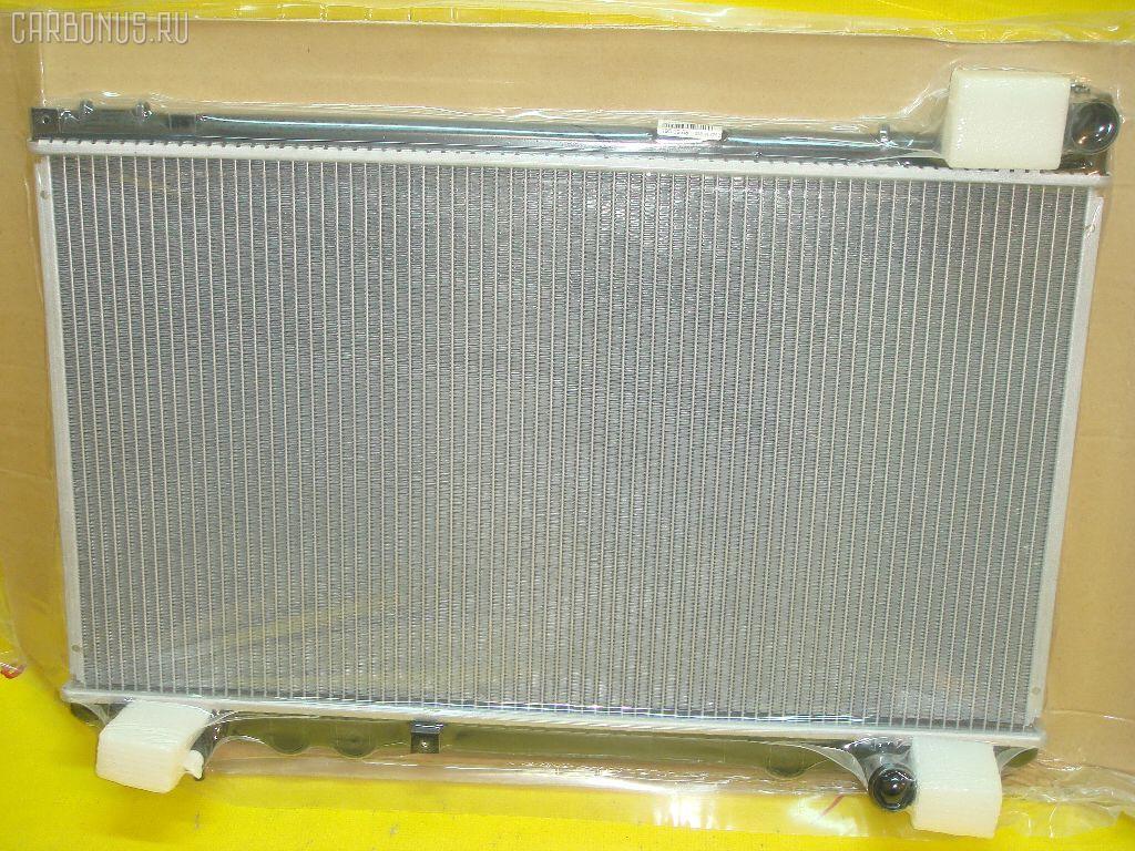 Радиатор ДВС TOYOTA MARK II JZX110 1JZ-FSE. Фото 2