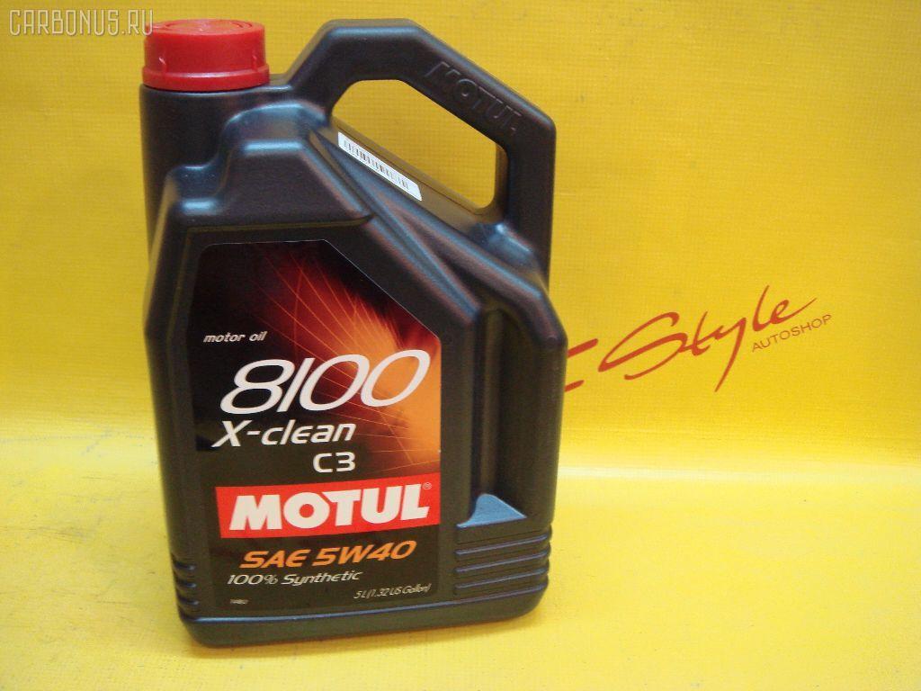 Масло моторное 8100 X-CLEAN C3 5W-40. Фото 2