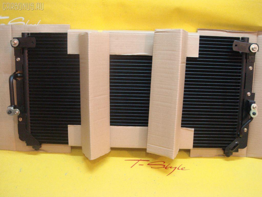 Радиатор кондиционера TOYOTA LAND CRUISER HDJ80 1HD-T. Фото 2