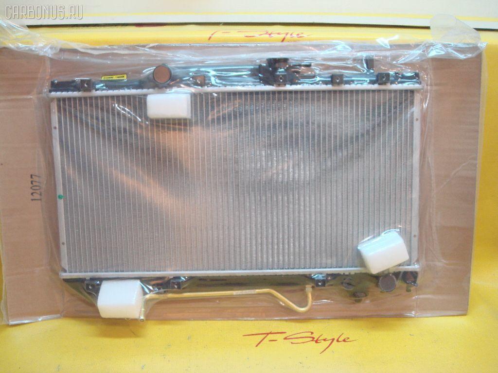 Радиатор ДВС TOYOTA CARINA ST195 3S. Фото 8