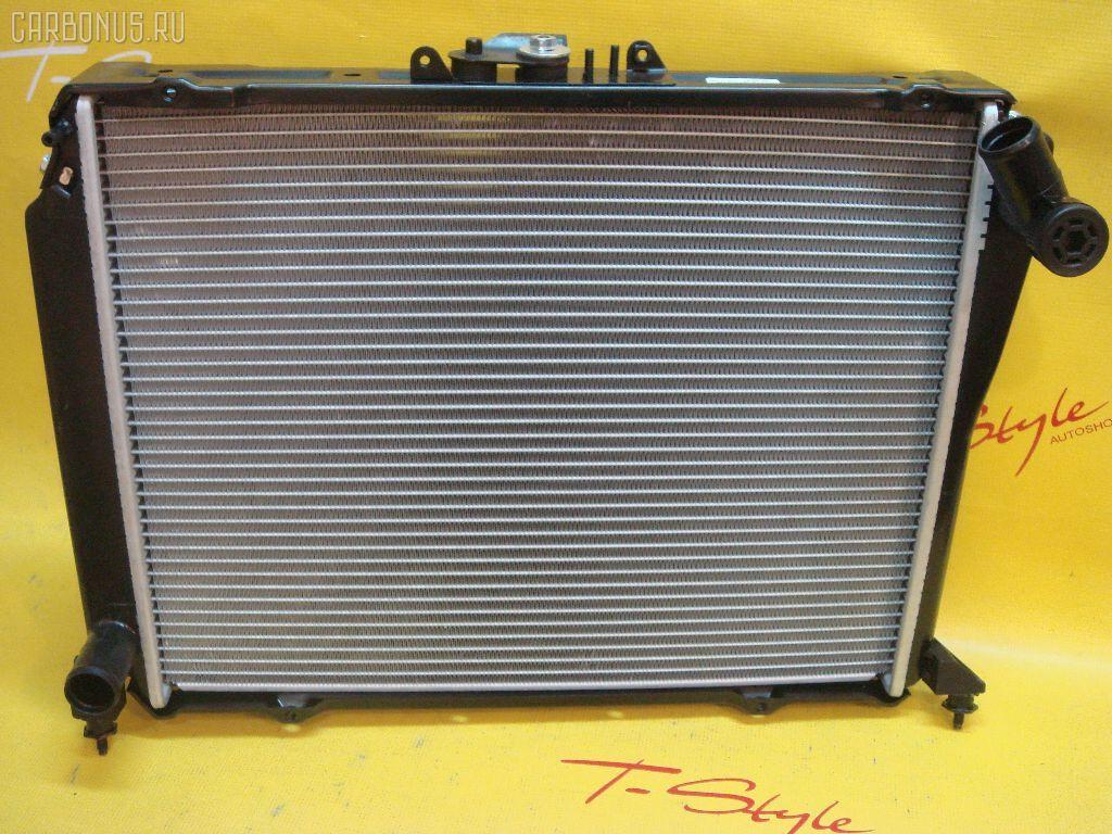 Радиатор ДВС TOYOTA HIACE LH109 3L