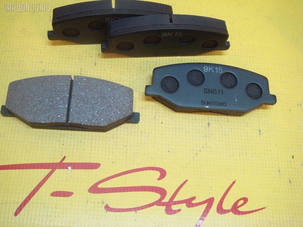Тормозные колодки SUZUKI JIMNY SIERRA JB43W. Фото 4