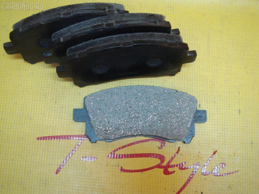 Тормозные колодки SUBARU LEGACY BH5 EJ20T. Фото 6