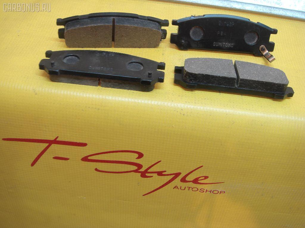 Тормозные колодки ADVIGS PF-7249 на Subaru Legacy BG5 Фото 1