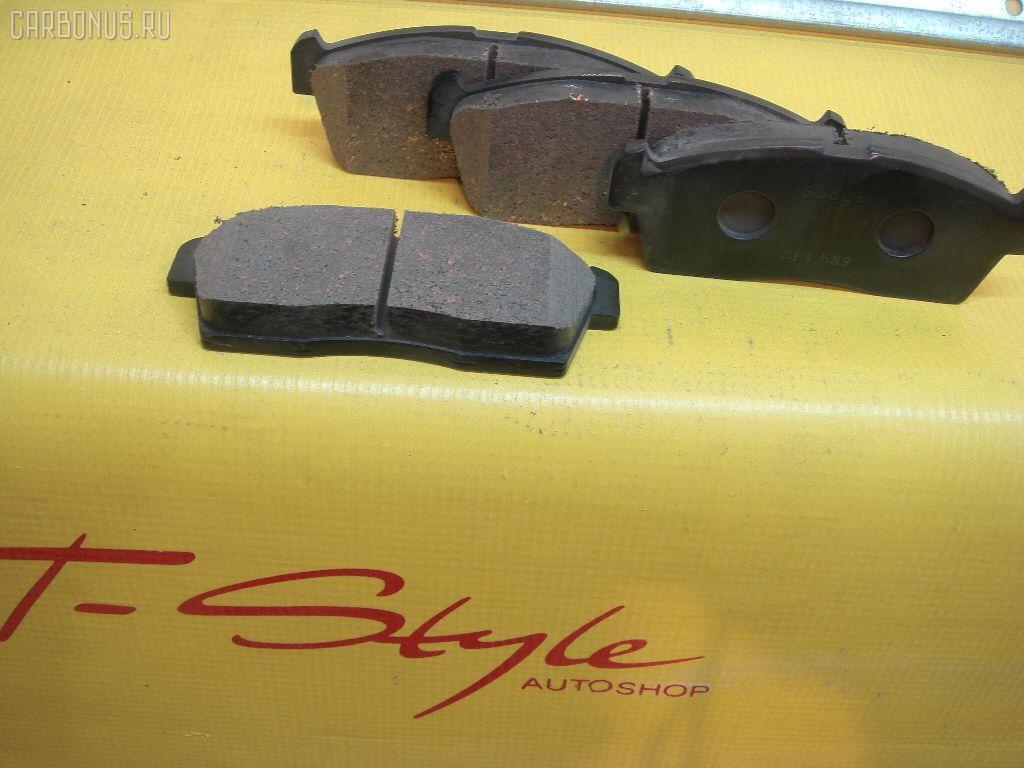Тормозные колодки SUZUKI KEI HN21S. Фото 3