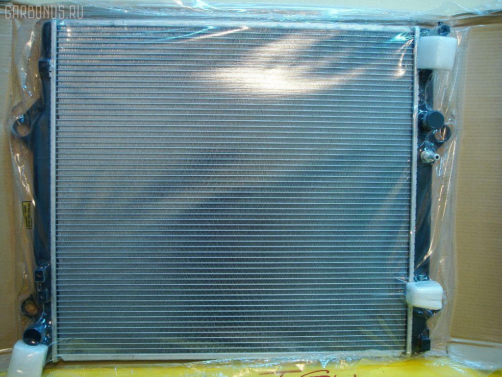 Радиатор ДВС TOYOTA LAND CRUISERP RADO VZJ120 5VZ. Фото 2