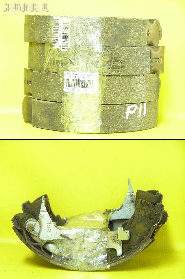Тормозные колодки на Nissan Primera P11 Фото 1