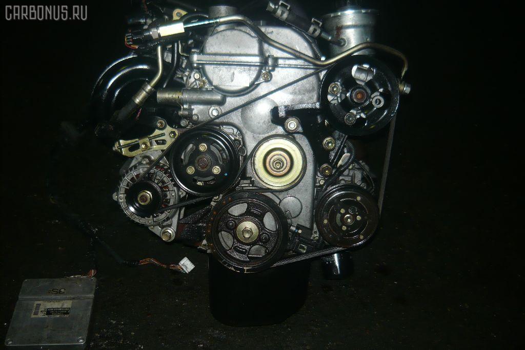 Двигатель TOYOTA VITZ SCP10 1SZ-FE. Фото 3