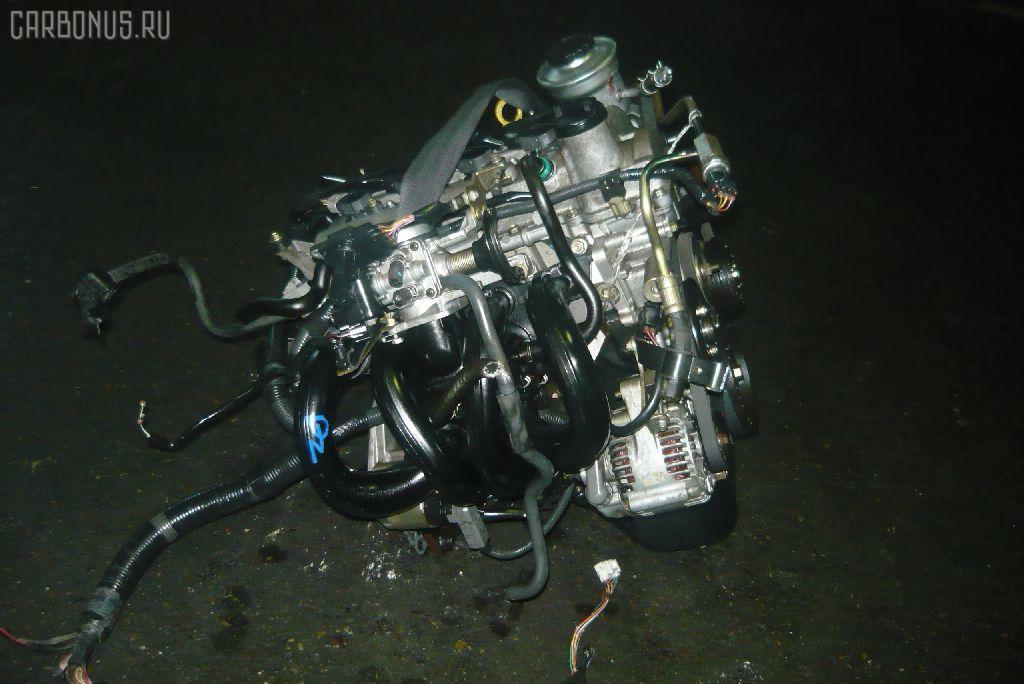 Двигатель TOYOTA VITZ SCP10 1SZ-FE. Фото 4