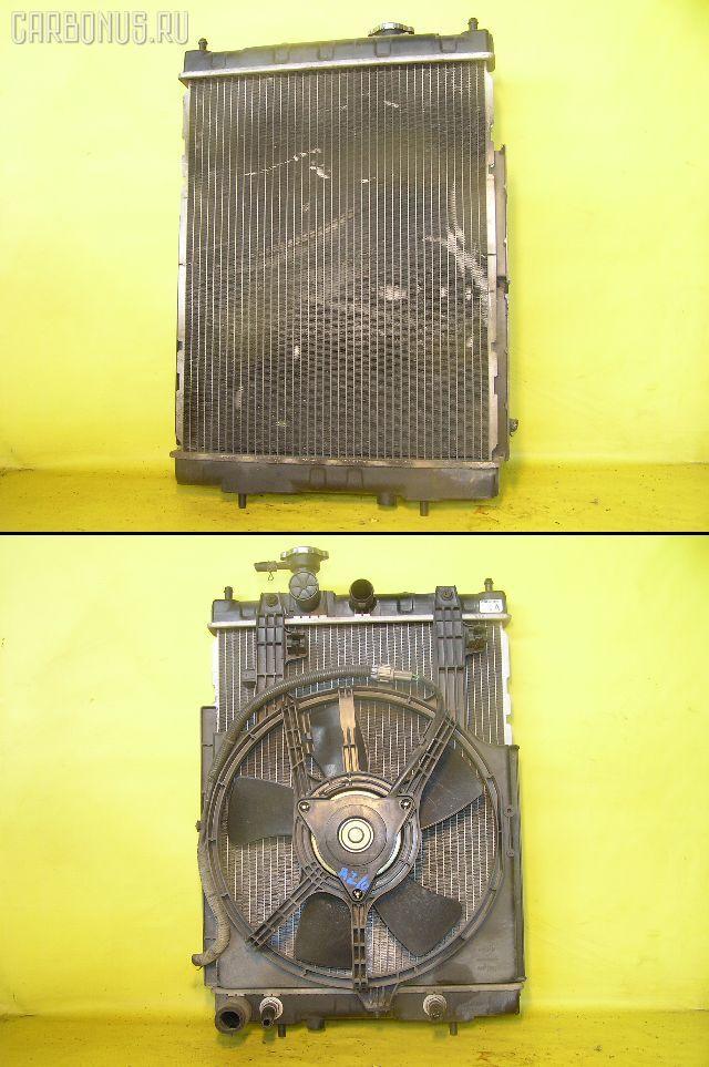 Радиатор ДВС NISSAN CUBE AZ10 CGA3DE. Фото 1