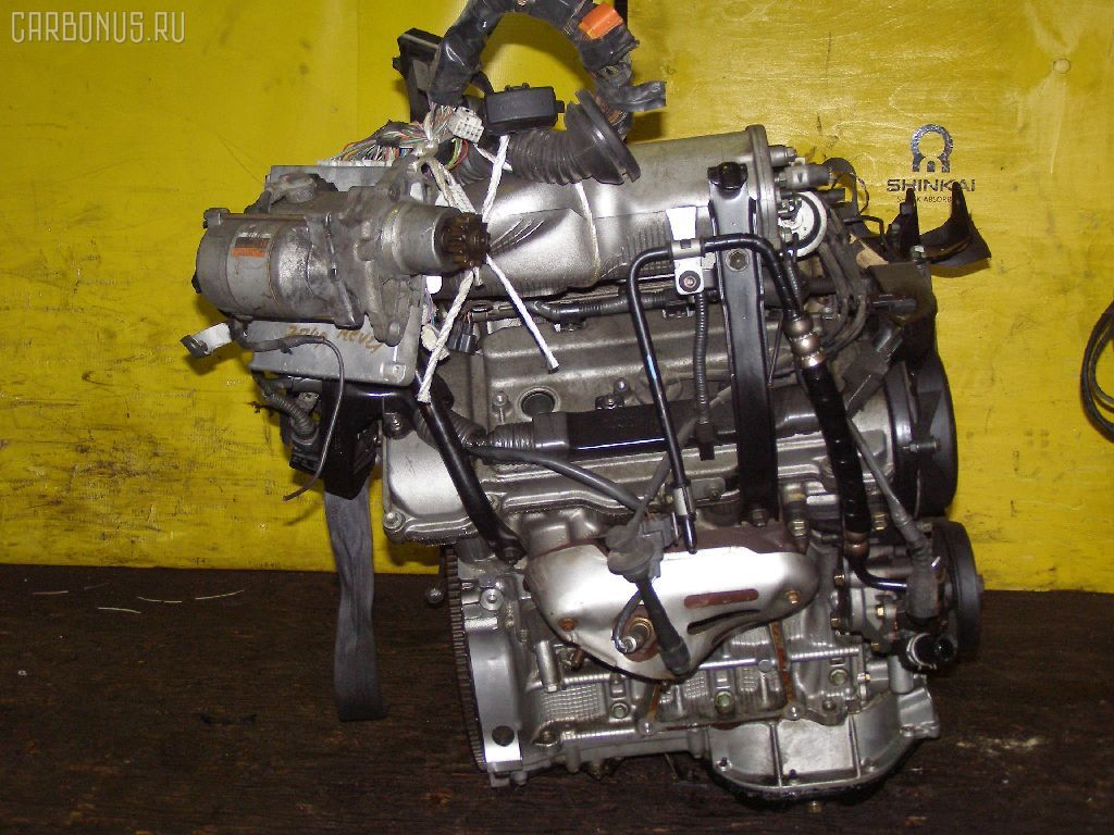 Двигатель TOYOTA MARK II QUALIS MCV21W 2MZ-FE. Фото 5