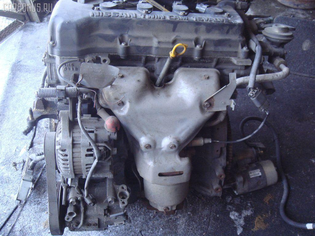 Двигатель NISSAN AD VAN VFY11 QG15DE. Фото 2
