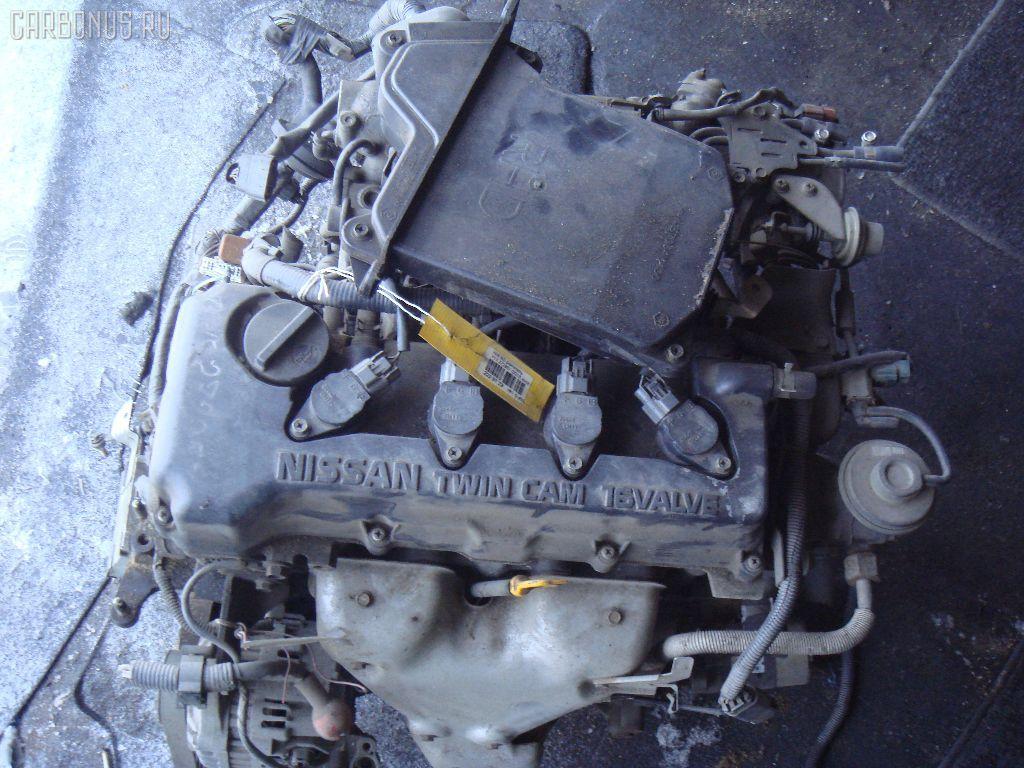 Двигатель NISSAN AD VAN VFY11 QG15DE. Фото 5