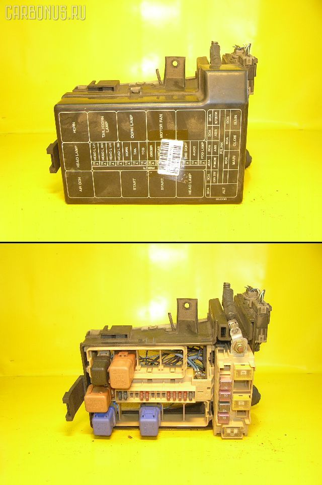 Блок предохранителей NISSAN LAUREL HC35 RB20DE. Фото 1