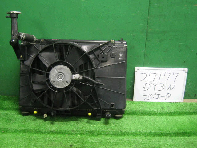Радиатор ДВС MAZDA DEMIO DY3W ZJ-VE. Фото 4